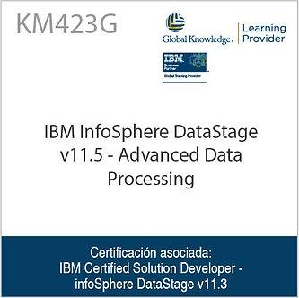 KM423G   IBM InfoSphere DataStage v11.5 - Advanced Data Processing
