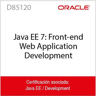 D85120   Java EE 7: Front-end Web Application Development