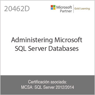 20462D | Administering Microsoft SQL Server 2014 Databases