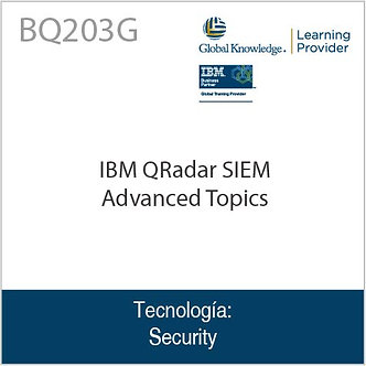 BQ203G | IBM QRadar SIEM Advanced Topics