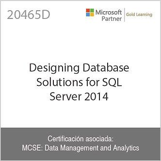 20465D | Designing Database Solutions for SQL Server 2014