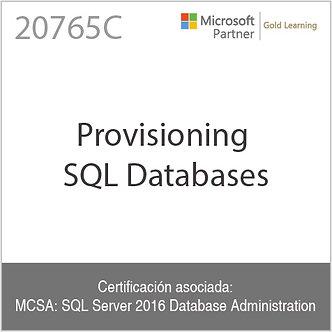 20765C | Provisioning SQL Databases