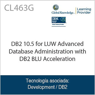 CL463G | DB2 10.5 for LUW Advanced Database Administration with DB2 BLU