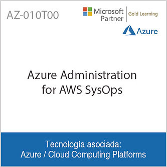 AZ-010T00 | Azure Administration for AWS SysOps