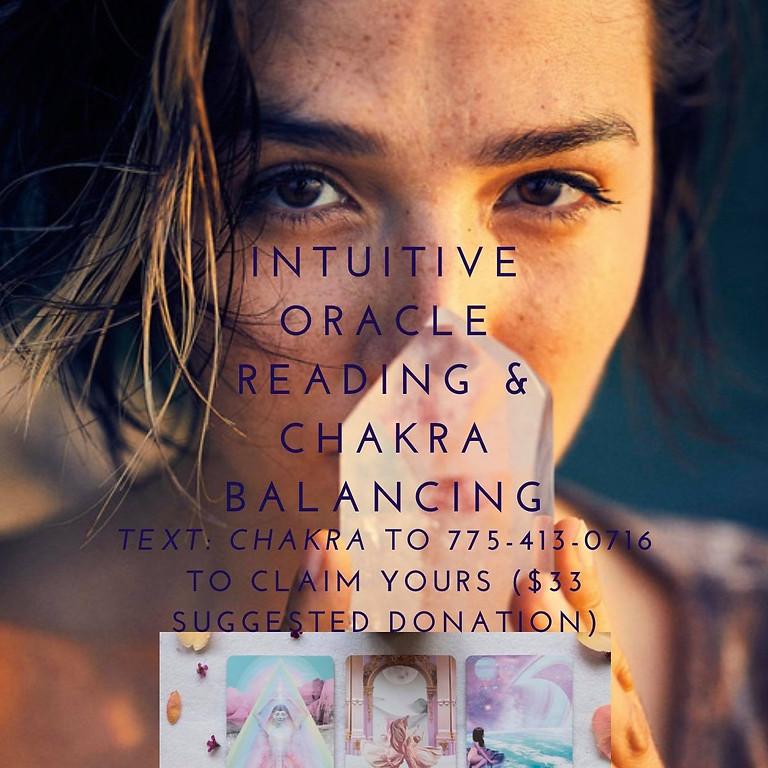 Intuitive Oracle Reading & Chakra Balancing