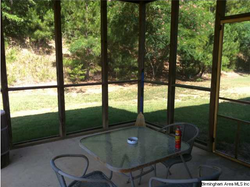 236 Fairview screened porch