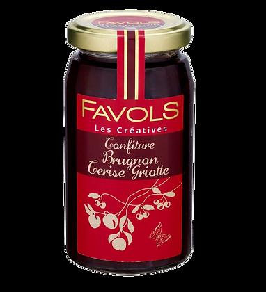 Confiture Brugnon-Cerise Griotte - Favols