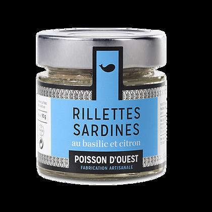 RILLETTES de Sardines Basilic & Citron