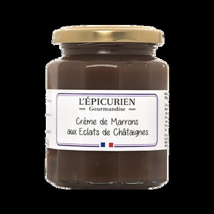 Gourmandise Crème de Marrons aux Eclats de Châtaignes - l'Epicurien