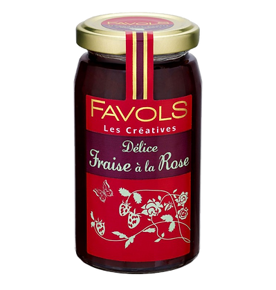 Confiture de Fraise à la Rose - Favols