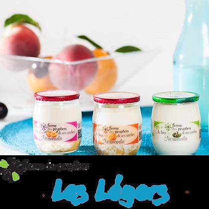 La Ferme des Peupliers - yaourt Gamme Les Légers par 2