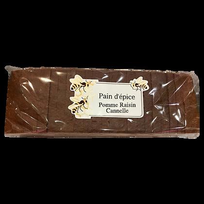 PAIN D'EPICES Tranché Pommes Raisins Cannelle