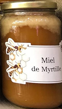 MIEL de Myrtille