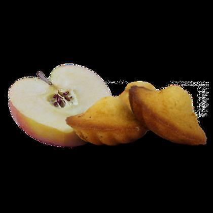 Madeleines Artisanales JEANNETTE aux Pommes