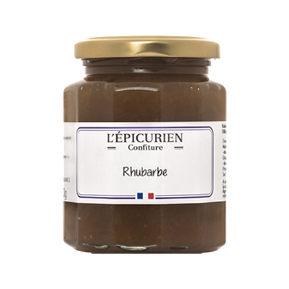 Confiture Rhubarbe - l'Epicurien