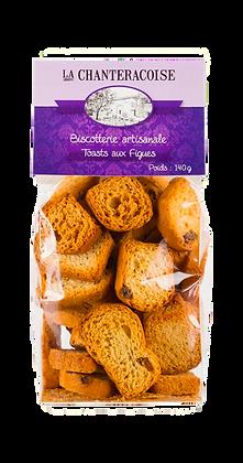 Toast Apéritif aux Figues - La Chanteracoise
