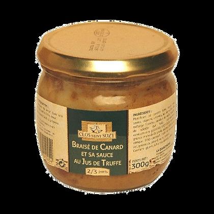 Braise de CANARD et sa Sauce au Jus de Truffe
