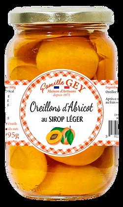 Oreillons d'Abricots au Sirop Léger - Raoul Gey