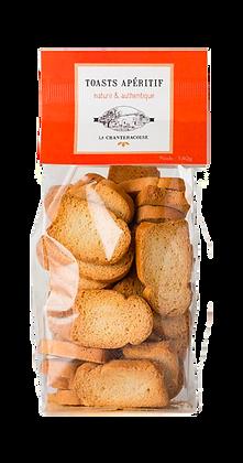 Toast Apéritif Nature - La Chantecroise