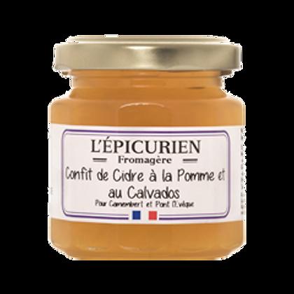 Confit de Cidre à la Pomme et au Calvados - l'Epicurien
