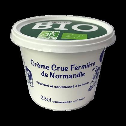 Crème Crue Fermière Bio