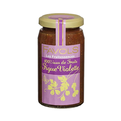 Confiture FIGUE-VIOLETTE 100% Fruits - Favols