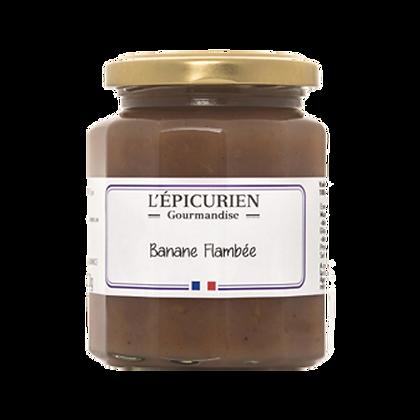 Gourmandise Banane Flambée - l'Epicurien