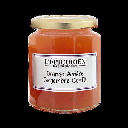 Gourmandise Orange au Gingembre Confit - l'Epicurien