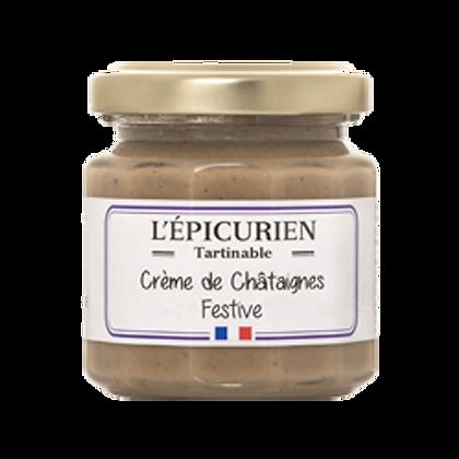 Crème de CHATAIGNES Festives - L'Epicurien
