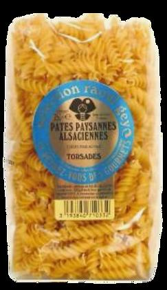 Pâtes Torsades - Pâtes d'Alsace