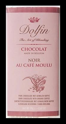 Tablette de Chocolat Noir Café Moulu - Dolfin