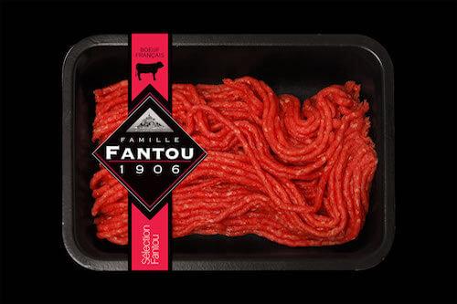 Haché Pur Bœuf 100% Rumsteak (-5% matières grasses) - Famille Fantou