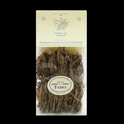 Pâtes Artisanales Maison FABRE - TAGLIATELLES Nid au Cacao
