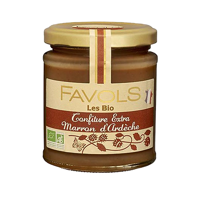 Confiture MARRON d'Ardèche Bio - Favols