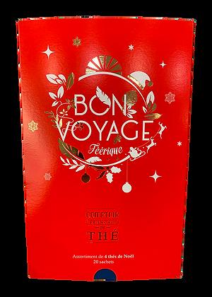 Coffret Thé Bon Voyage Féérique - 4 Thés de Noël