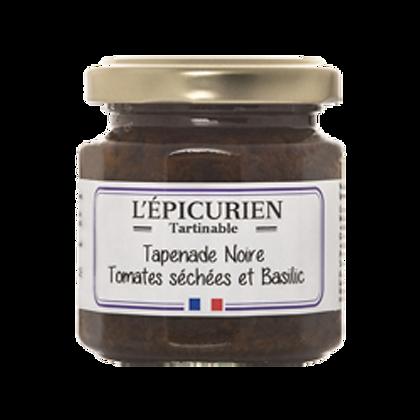 TAPENADE Noire Tomates Séchées et Basilic - L'Epicurien
