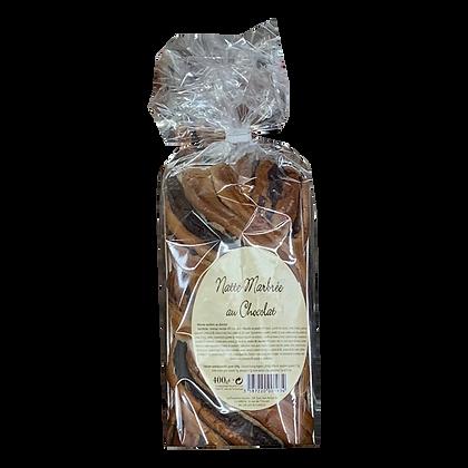NATTE Marbrée au Chocolat