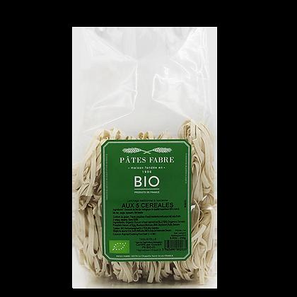 Pâtes Artisanales Maison FABRE - TAGLIATELLES Nids 5 Céréales Bio