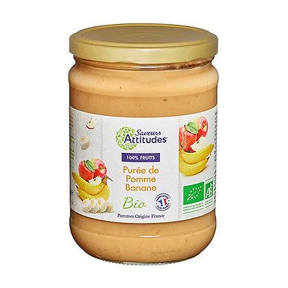 PURÉE de POMMES BANANES (Pommes de France)