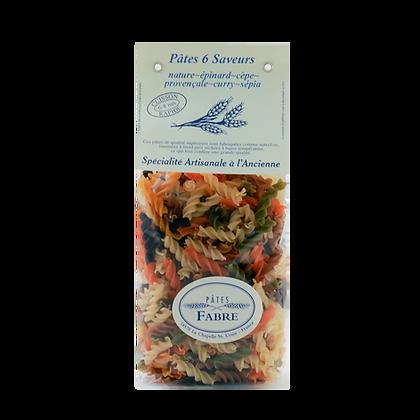 Pâtes Artisanales Maison FABRE - TORSADES 6 Saveurs