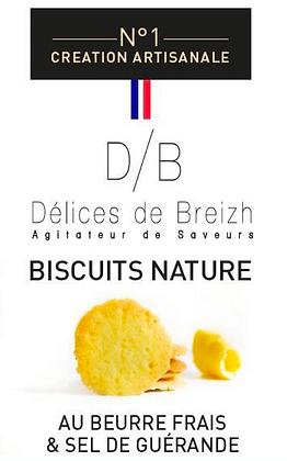 Biscuit Nature - Délices de Breizh