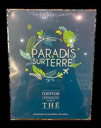 Coffret Thé Paradis sur Terre - 6 parfums
