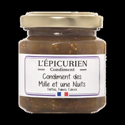 CONFIT Mille et Une Nuit L'Epicurien (Dattes et Figues)