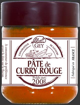 Pâte de Curry Rouge - Raoul Gey