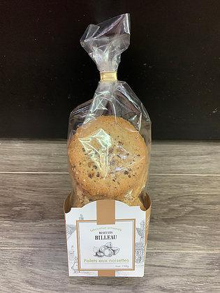 Palets aux Noisettes - Biscuits Billeau