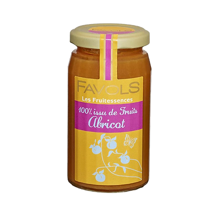 Confiture ABRICOT 100% Fruits - Favols