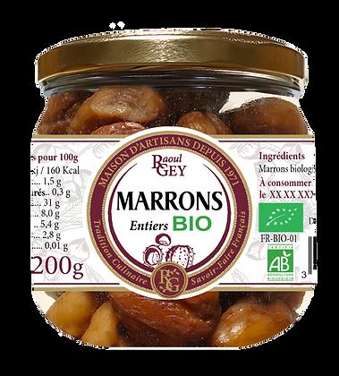 Marrons Entiers BIO - Raoul Gey