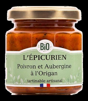 Poivron et Aubergine à l'Origan Bio - L'Epicurien