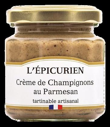 Crème de Champignons au Parmesan - L'Epicurien