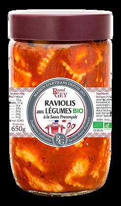 Raviolis aux Légumes Bio - Raoul Gey